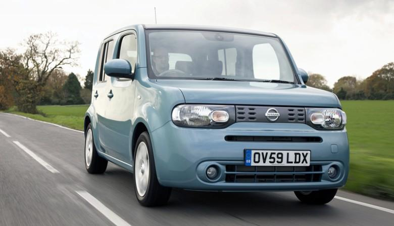 Front View 2010 Nissan Cube CUV Picture