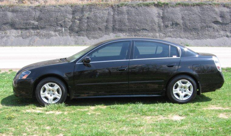 2006 Nissan Altima Left Side Car Picture