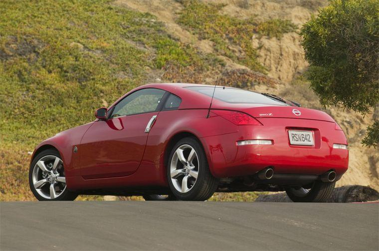 2007 Nissan 350Z Rear Left Side Car Picture
