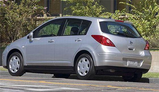 2007 Nissan Versa Rear Left Side Car Picture