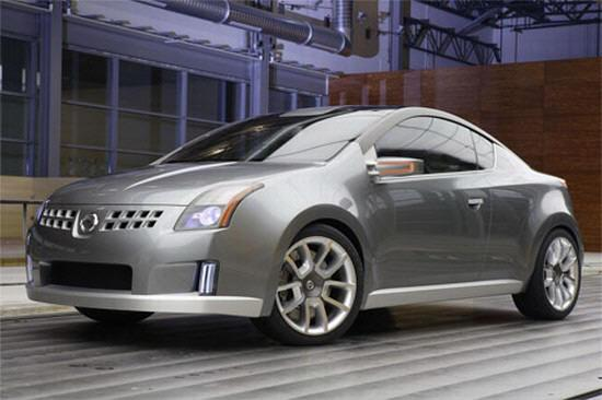 Front left Gray 2005 Nissan Azeal Concept Car Picture