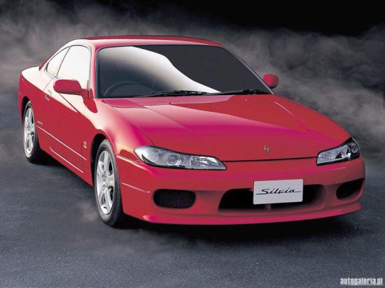 Front Right Red 1999 Nissan Silvia Car Picture