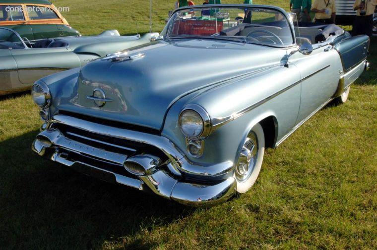 1953 Oldsmobile Fiesta Convertible Car Picture