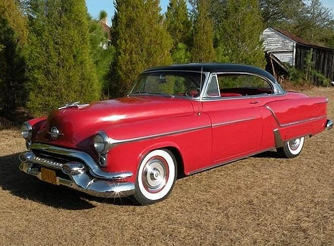 Front Left 1953 Oldsmobile 98 Car Picture