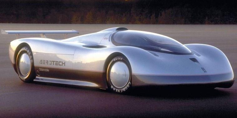 Front Right 1987 Oldsmobile Aerotech Car Picture