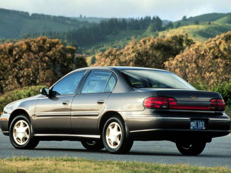 Rear Left 1997 Oldsmobile Cutlass Sedan Car Picture