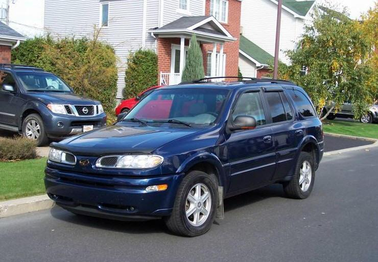 2002 Blue Oldsmobile Bravada Suv Picture Oldsmobile Car Photos