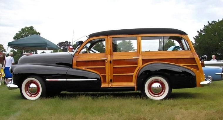1947 Oldsmobile Station Wagon Picture