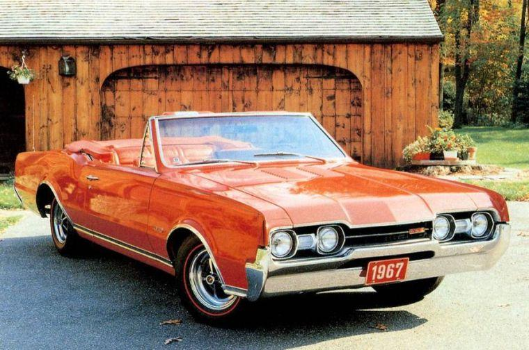 1967 Oldsmobile 442 Car Picture