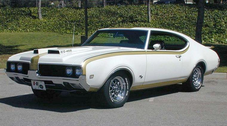 Front left 1969 Oldsmobile Hurst 455 Car Picture