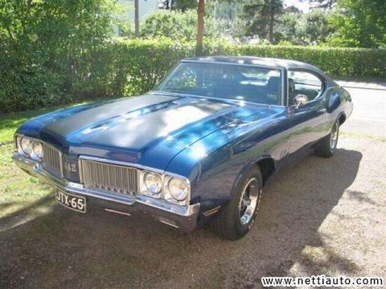 Front left 1970 Oldsmobile 442 Car Picture