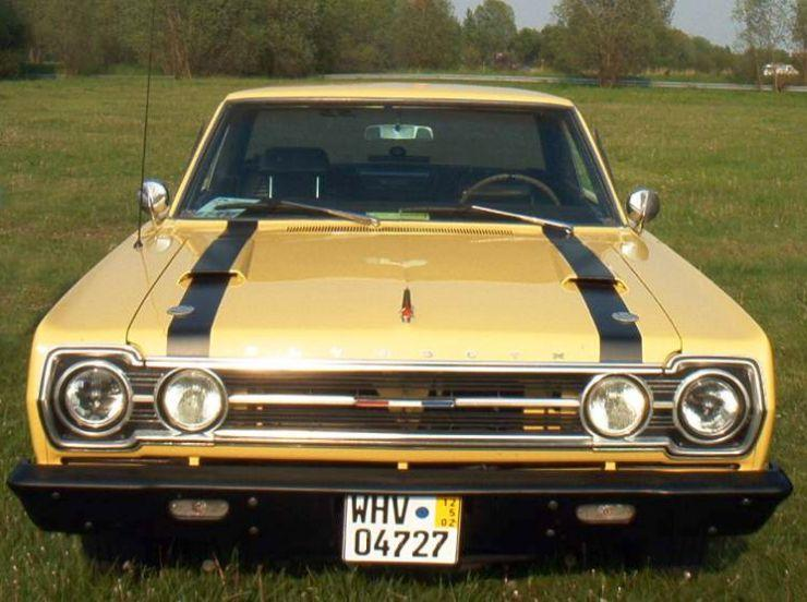 Plymouth Belvedere GTX Car Picture