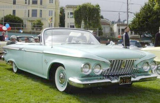 1961 Plymouth Fury Car Picture