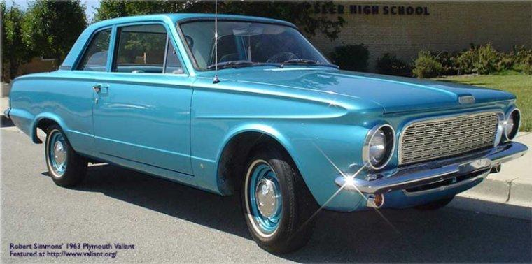 1963 Plymouth Valiant Car Picture