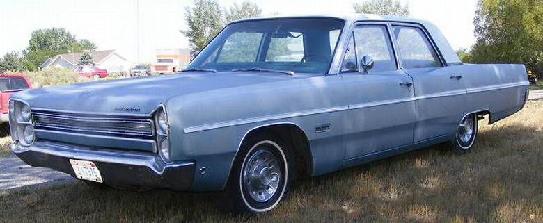 Front Left Blue 1968 Plymouth Fury III Car Picture