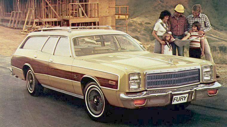 1977 Plymouth Fury Sport Station Wagon Picture