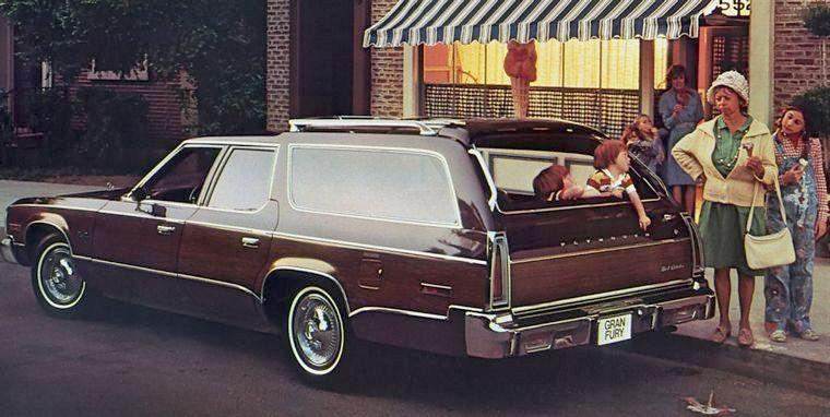 1977 Plymouth Gran Fury Station Wagon Picture