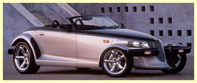 Right Side 2001 Plymouth Prowler Last Car Picture
