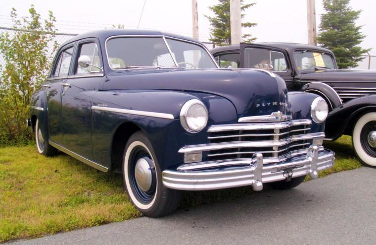 1949 Plymouth Special Deluxe Car Picture