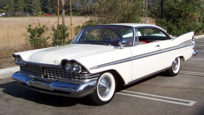 1959 Plymouth Sport Fury Car Picture