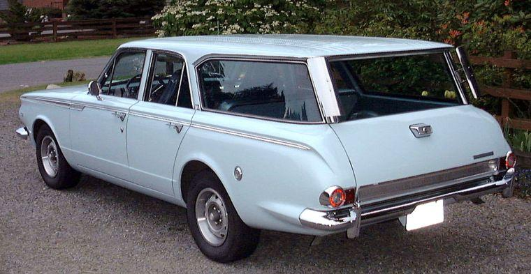 1965 Plymouth Valiant Station Wagon Picture