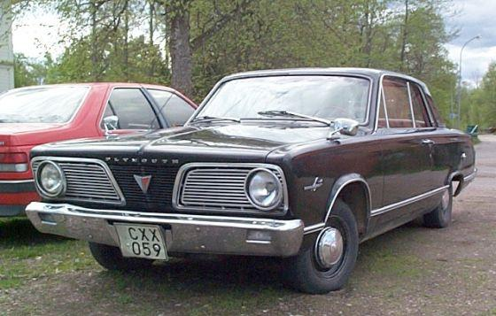 1966 Plymouth Valiant Car Picture
