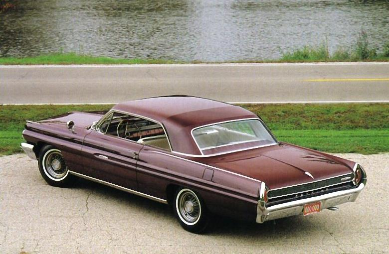 Rear Left 1962 Pontiac Grand Prix Car Picture