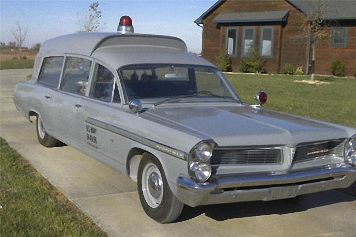 1963 Pontiac Bonneville JFK Ambulance Picture