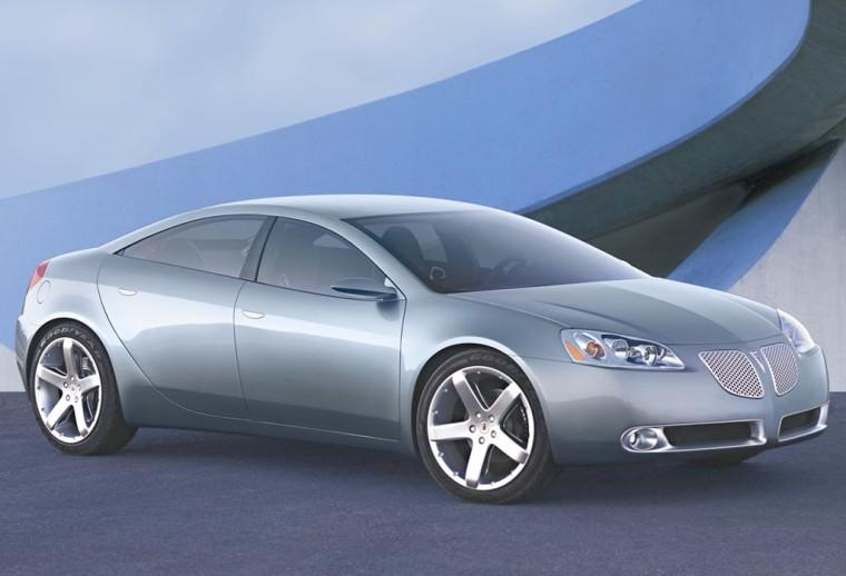 Front Right 2003 Pontiac G6 Concept Car Picture