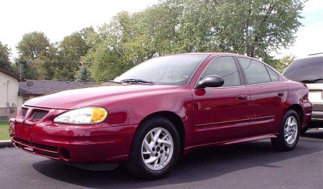 2004 Pontiac Grand Am Front left Side Car Picture