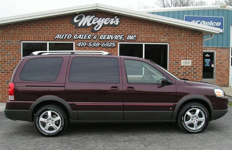 2006 Pontiac Montana Right Side Van Picture
