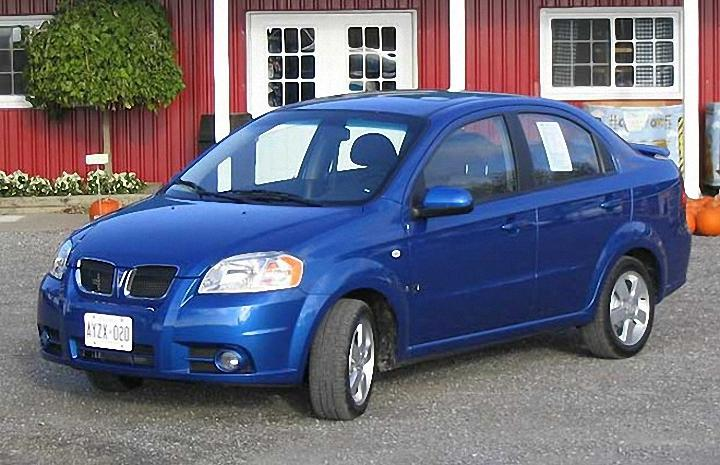 2007 Pontiac Wave Car Picture