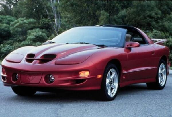 Front Left Pontiac Firebird Trans Am Car Picture