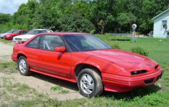 Front right Red 1995 Pontiac Grand Prix Car Picture