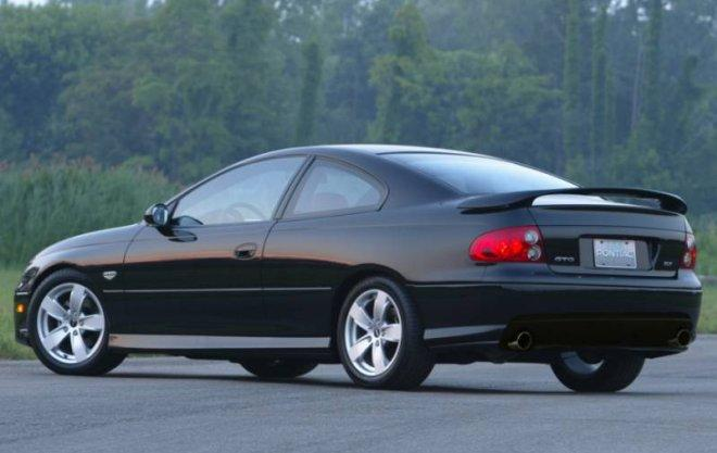 2006 Pontiac GTO Rear left Side Car Picture