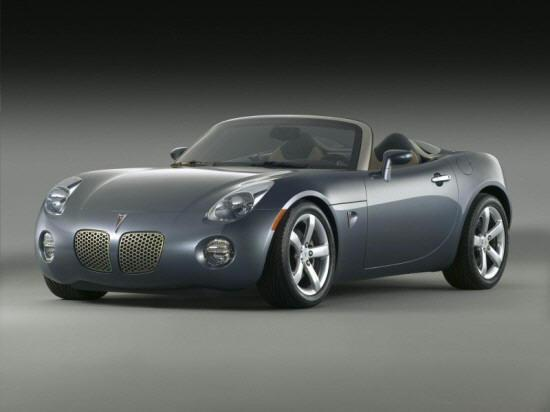 Front left Gray 2006 Pontiac Solstice Car Picture