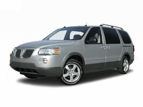 Front left gray 2006 Pontiac Montana Car Picture
