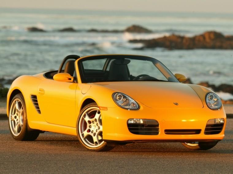 Front Right 2007 Porsche Boxster S Car Picture