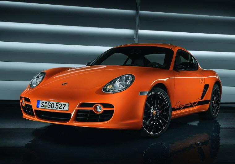 Front Left 2009 Porsche Cayman S Sport Car Picture