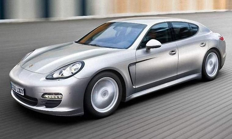Front Left 2011 Porsche Panamera Car Picture