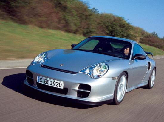 Front left silver 2004 Porsche 911 GT Car Picture