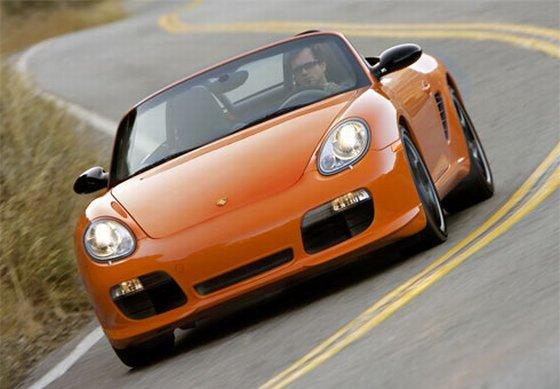 Front view 2008 Porsche Boxster Car Picture