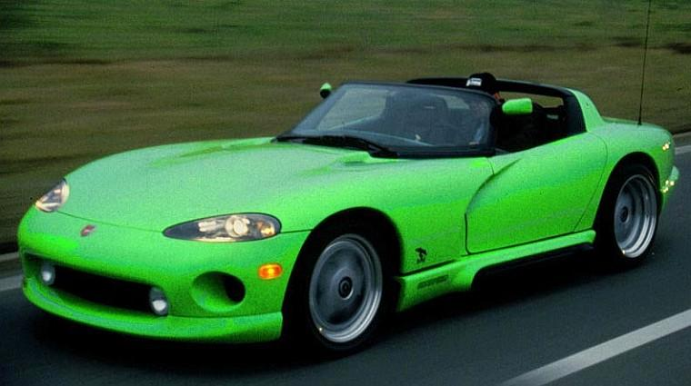Front Left 1993 Rinspeed Dodge Viper Concept