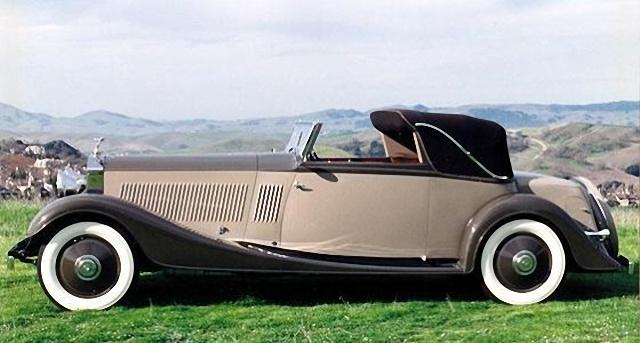 Left Side 1934 Rolls-Royce Phantom II Car Picture