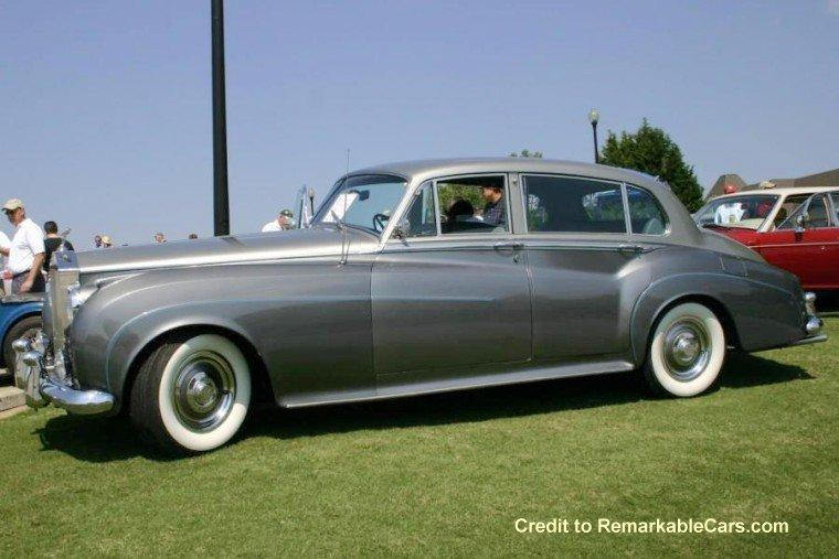 1962 Rolls-Royce Silver Cloud II left Side Car Picture