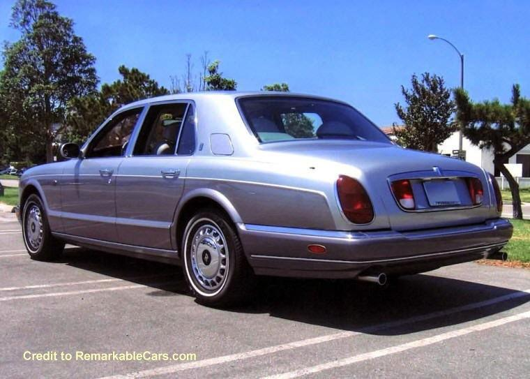 1999 Rolls-Royce Silver Seraph Rear left Car Picture