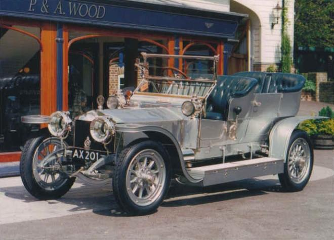 Rolls-Royce AX01 Silver Ghost Front left Car Picture