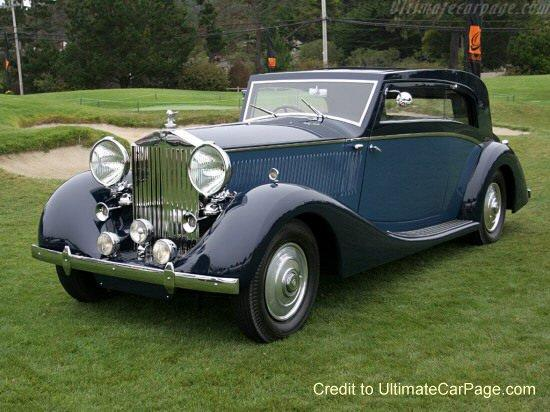 Rolls-Royce Phantom III Car Picture