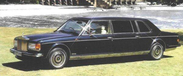 1990 Rolls Royce Silver Spur Limo Car Picture