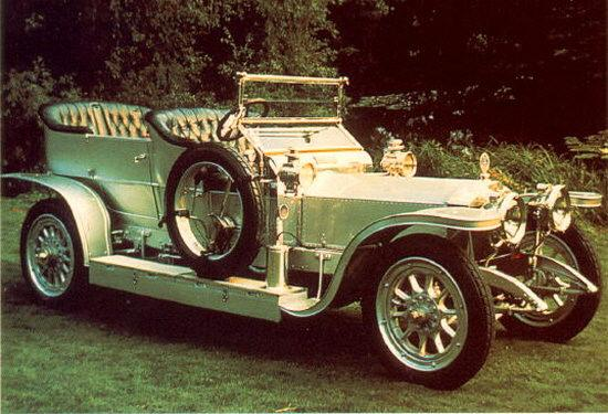 Rolls-Royce Silver Ghost Car Picture